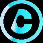 Light blue and aqua profile icon for Carlos.