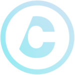 Teal and light blue profile icon for Chris.