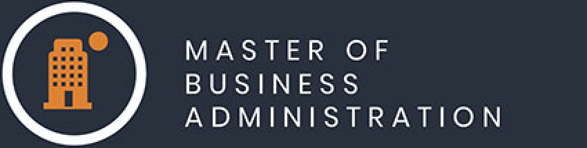 Master of Business Administration icon.